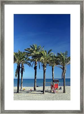Roquettas 26 Framed Print by Jez C Self