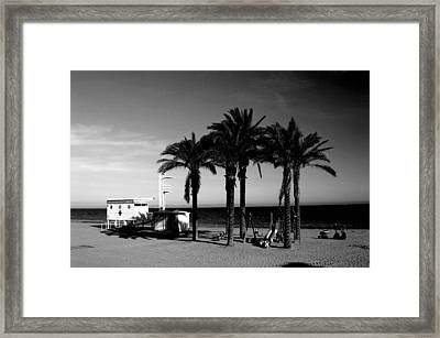 Roquettas 28 Framed Print by Jez C Self