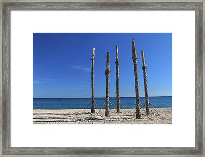 Roquettas 3 Framed Print by Jez C Self