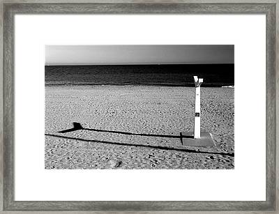 Roquettas 31 Framed Print by Jez C Self