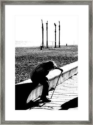 Roquettas 35 Framed Print by Jez C Self