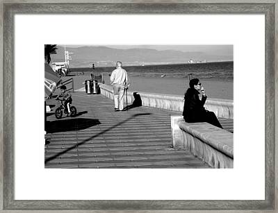Roquettas 39 Framed Print by Jez C Self