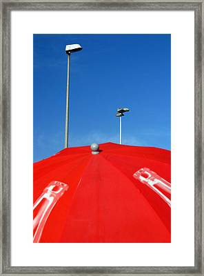 Roquettas 40 Framed Print by Jez C Self
