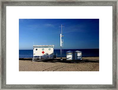 Roquettas 42 Framed Print by Jez C Self