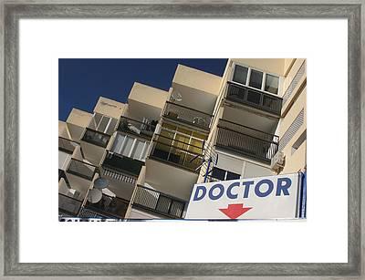 Roquettas 44 Framed Print by Jez C Self