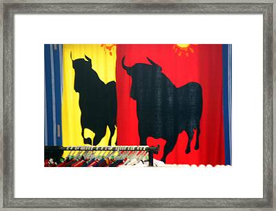 Roquettas 47 Framed Print by Jez C Self