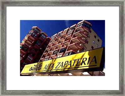 Roquettas 48 Framed Print by Jez C Self