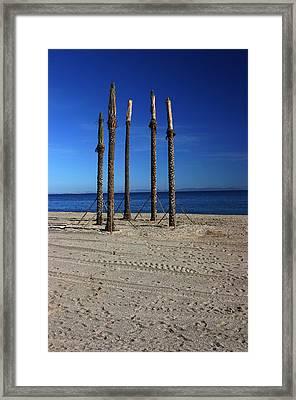 Roquettas 5 Framed Print by Jez C Self