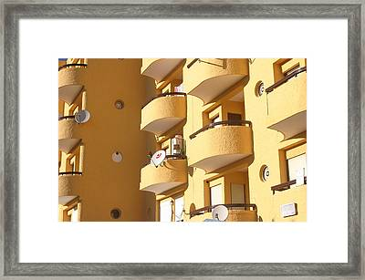 Roquettas 53 Framed Print by Jez C Self