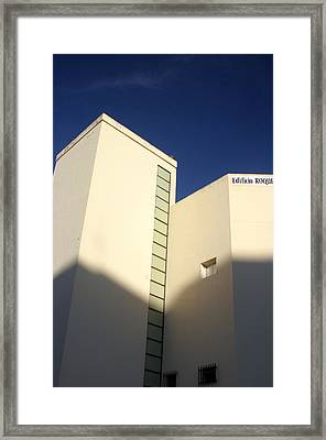 Roquettas 57 Framed Print by Jez C Self