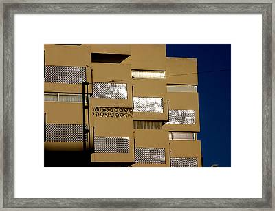 Roquettas 58 Framed Print by Jez C Self