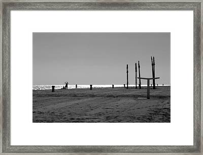 Roquettas 6 Framed Print by Jez C Self