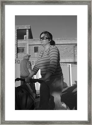 Roquettas 64 Framed Print by Jez C Self