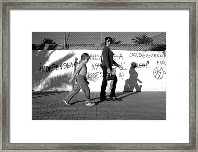 Roquettas 67 Framed Print by Jez C Self