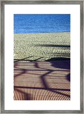 Roquettas 68 Framed Print by Jez C Self
