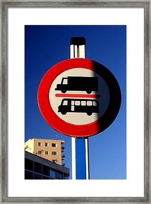 Roquettas 73 Framed Print by Jez C Self