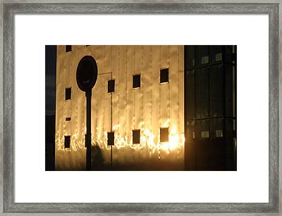 Roquettas 78 Framed Print by Jez C Self