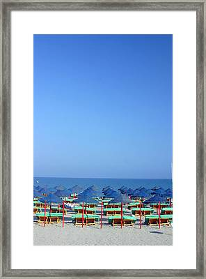 Roquettas 83 Framed Print by Jez C Self