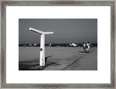 Roquettas 86 Framed Print by Jez C Self