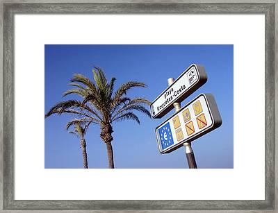 Roquettas 87 Framed Print by Jez C Self