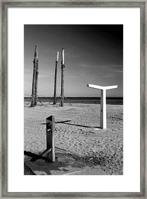 Roquettas 9 Framed Print by Jez C Self