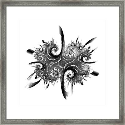Rorschach Framed Print by David April