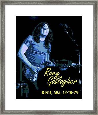 Rory In Kent Framed Print by Ben Upham