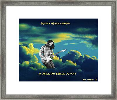 Million Miles Away Framed Print