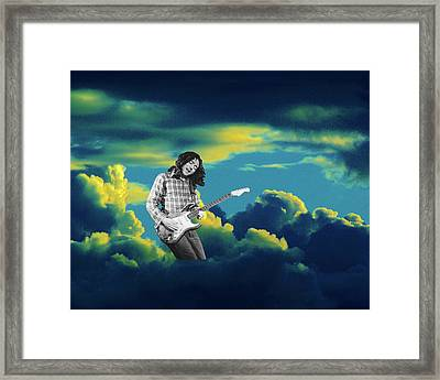 Framed Print featuring the photograph Rory Morning Sun by Ben Upham