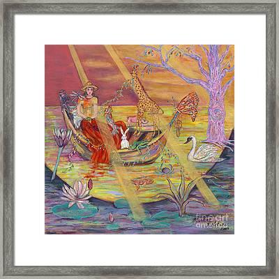 Rosa' S Ark Framed Print by Marlene Robbins