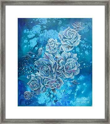 Rosa Stellarum Framed Print