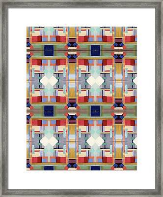 Rosalie's Fabric Framed Print