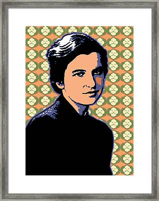 Rosalind Franklin Framed Print