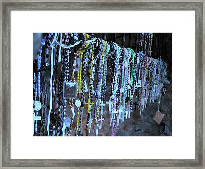 Rosary Framed Print by Angela Wright