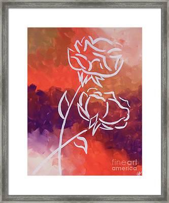 Rosary Framed Print by Jilian Cramb - AMothersFineArt