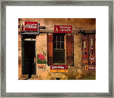 Rosas Cafe Framed Print