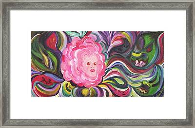 Rose Among Thorns Framed Print by Suzanne  Marie Leclair
