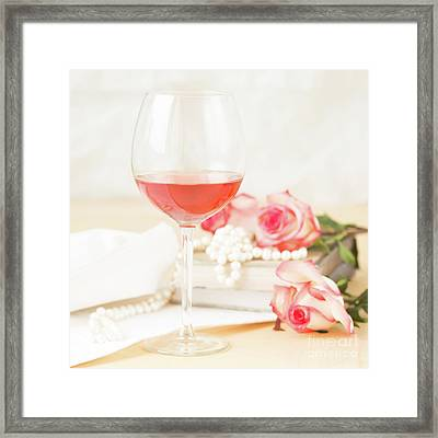 Rose And Roses Framed Print by Ekaterina Molchanova