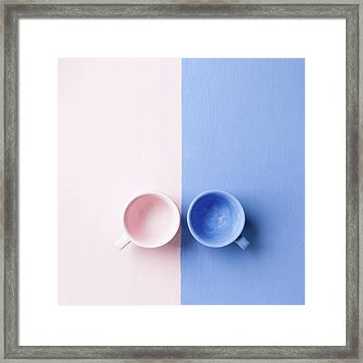 Rose And Serenity Framed Print by Andrey A