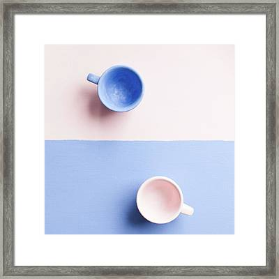 Rose And Serenity IIi Framed Print