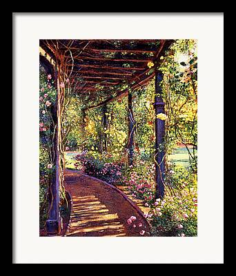 Gardenscape Framed Prints