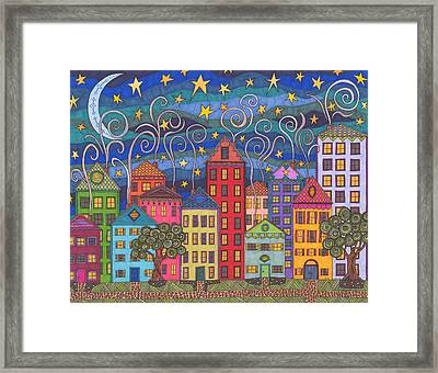 Rose Avenue Framed Print
