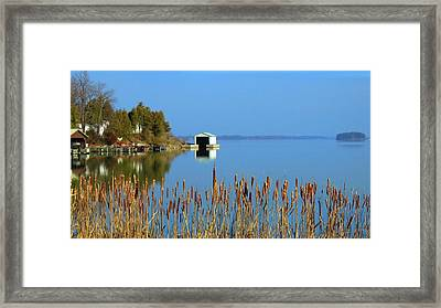 Rose Bay Framed Print