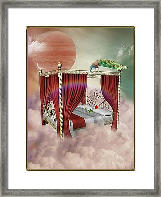 Rose Bed Framed Print