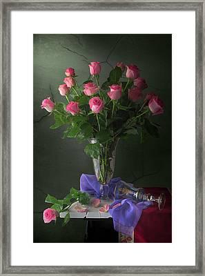 Rose Blossoms Framed Print