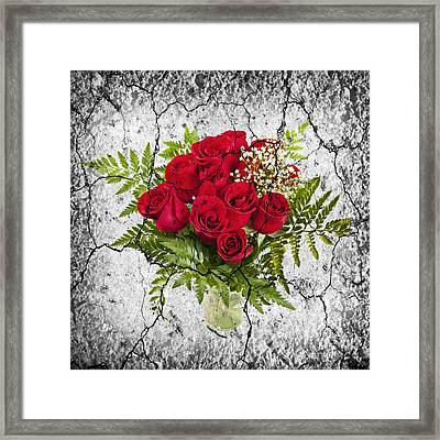 Rose Bouquet Framed Print by Elena Elisseeva