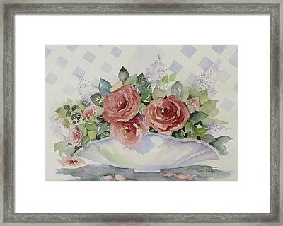 Rose Bowl Framed Print