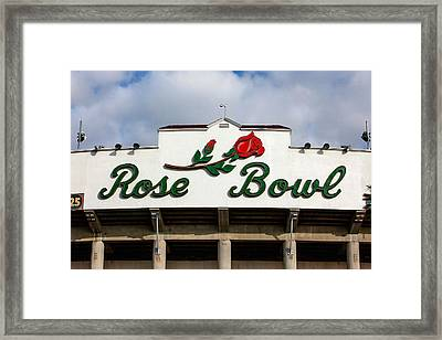 Rose Bowl Pasadena Framed Print