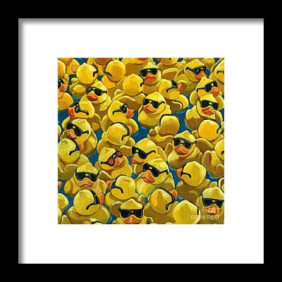 Rubber Duck Framed Prints