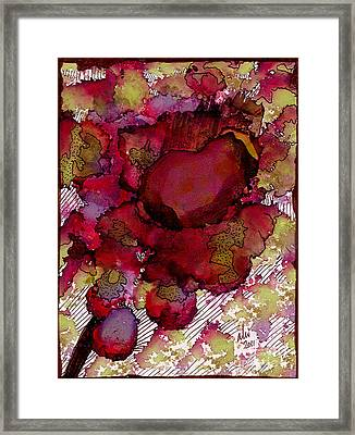 Rose Deep Framed Print